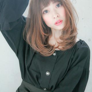 艶髪 セミロング グレージュ 透明感 ヘアスタイルや髪型の写真・画像 ヘアスタイルや髪型の写真・画像