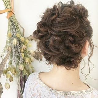 ヘアアレンジ アンニュイほつれヘア ガーリー モテボブ ヘアスタイルや髪型の写真・画像