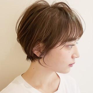 オフィス デート ショート 簡単ヘアアレンジ ヘアスタイルや髪型の写真・画像 ヘアスタイルや髪型の写真・画像