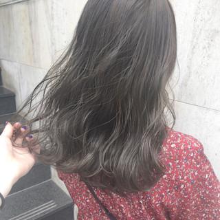 ハイライト ナチュラル グレージュ 大人かわいい ヘアスタイルや髪型の写真・画像