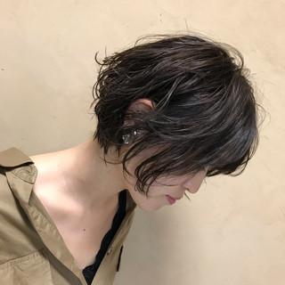 ナチュラル 冬 ゆるふわ デジタルパーマ ヘアスタイルや髪型の写真・画像