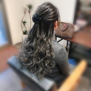 ヘアセット ブライダル ナチュラル 結婚式 ヘアスタイルや髪型の写真・画像