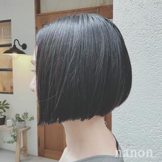 オフィス デート ショート ナチュラル ヘアスタイルや髪型の写真・画像