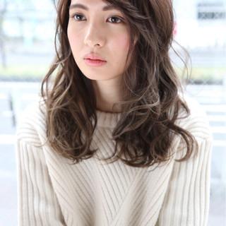 外国人風 フェミニン ハイライト 大人かわいい ヘアスタイルや髪型の写真・画像
