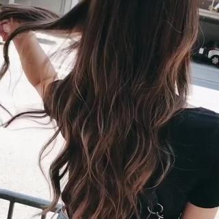 ロング ナチュラル oggiotto 透明感カラー ヘアスタイルや髪型の写真・画像