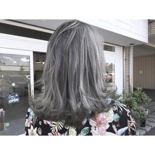 ストリート かっこいい ミディアム デート ヘアスタイルや髪型の写真・画像