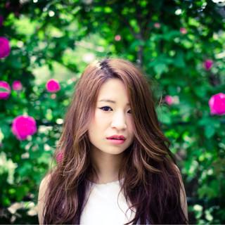 ストリート 外国人風 パーマ ロング ヘアスタイルや髪型の写真・画像