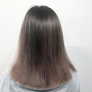バレイヤージュ 圧倒的透明感 ナチュラルグラデーション ナチュラル ヘアスタイルや髪型の写真・画像