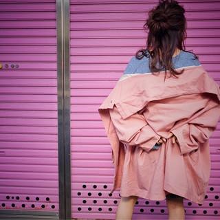 ゆるふわ フェミニン 大人女子 セミロング ヘアスタイルや髪型の写真・画像