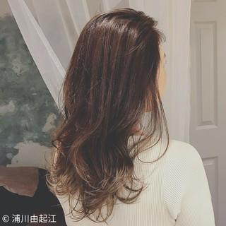 外国人風カラー デート エレガント ゆるふわ ヘアスタイルや髪型の写真・画像