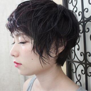 ピンクアッシュ 透明感 ナチュラル 秋 ヘアスタイルや髪型の写真・画像