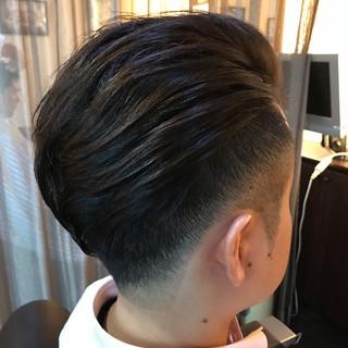 ショート ストリート フェードカット ヘアスタイルや髪型の写真・画像