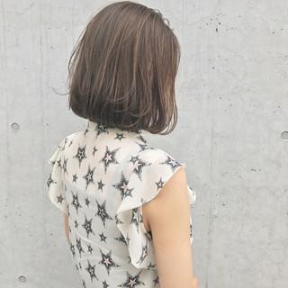 ワンカール 外国人風 ハイライト 大人かわいい ヘアスタイルや髪型の写真・画像
