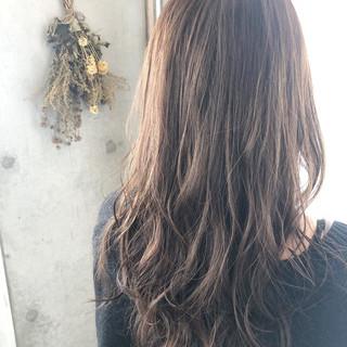 3Dカラー イルミナカラー 透明感カラー ナチュラル ヘアスタイルや髪型の写真・画像