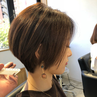 スポーツ エフォートレス オフィス フェミニン ヘアスタイルや髪型の写真・画像