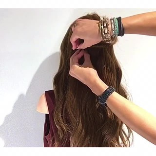 ヘアアレンジ 女子会 涼しげ 夏 ヘアスタイルや髪型の写真・画像