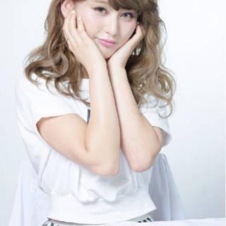 ゆるふわ 大人かわいい グラデーションカラー 渋谷系 ヘアスタイルや髪型の写真・画像 ヘアスタイルや髪型の写真・画像