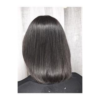 スポーツ アウトドア ボブ オフィス ヘアスタイルや髪型の写真・画像