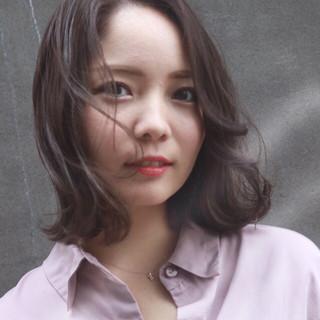 透明感 外国人風カラー ナチュラル アッシュグレージュ ヘアスタイルや髪型の写真・画像