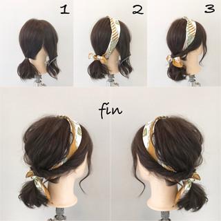 簡単ヘアアレンジ ヘアアレンジ ナチュラル 女子会 ヘアスタイルや髪型の写真・画像 ヘアスタイルや髪型の写真・画像