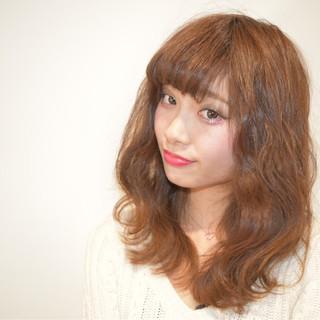 ニュアンス アッシュ 小顔 セミロング ヘアスタイルや髪型の写真・画像