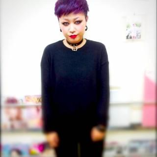 アッシュ レッド 大人女子 ピンク ヘアスタイルや髪型の写真・画像