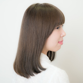 外国人風 大人かわいい 暗髪 ナチュラル ヘアスタイルや髪型の写真・画像