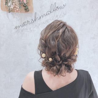 外国人風 セミロング 大人かわいい フェミニン ヘアスタイルや髪型の写真・画像