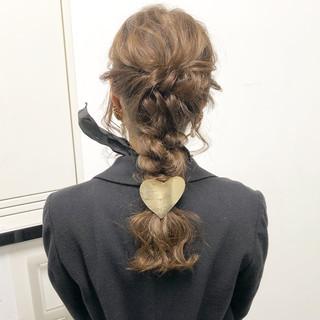 結婚式 デート ナチュラル アンニュイほつれヘア ヘアスタイルや髪型の写真・画像