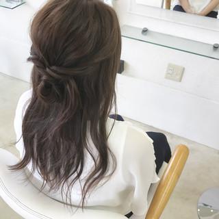 色気 ヘアアレンジ ロング 女子会 ヘアスタイルや髪型の写真・画像