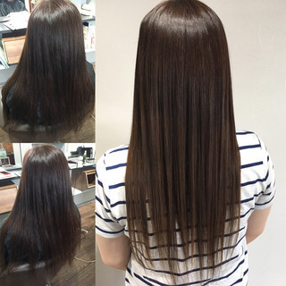 ロング 髪質改善 髪質改善カラー 髪質改善トリートメント ヘアスタイルや髪型の写真・画像