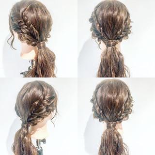 デート フェミニン ルーズ ヘアアレンジ ヘアスタイルや髪型の写真・画像 ヘアスタイルや髪型の写真・画像