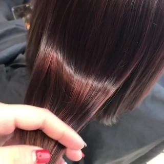 デート 春ヘア 春 ピンクカラー ヘアスタイルや髪型の写真・画像