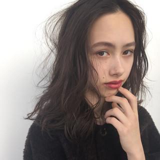 外国人風 ゆるふわ 大人かわいい ナチュラル ヘアスタイルや髪型の写真・画像