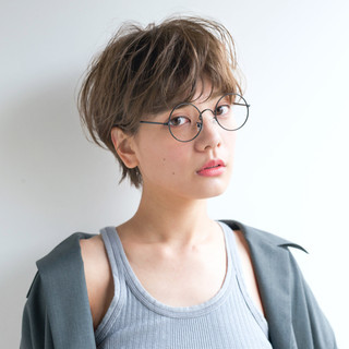 アンニュイ ナチュラル 抜け感 アッシュ ヘアスタイルや髪型の写真・画像