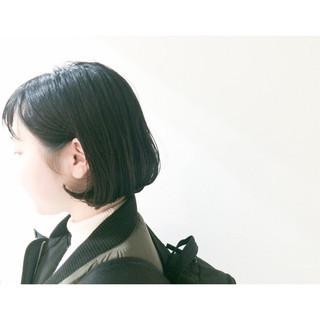 ナチュラル 春 ショートボブ ボブ ヘアスタイルや髪型の写真・画像