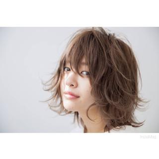 うざバング ナチュラル ゆるふわ 冬 ヘアスタイルや髪型の写真・画像 ヘアスタイルや髪型の写真・画像