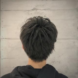 メンズマッシュ メンズヘア メンズカット ショート ヘアスタイルや髪型の写真・画像 | メンズカット専門美容師 ナカジマヤスミツ / mens groomingsalon by kakimotoarms新宿店