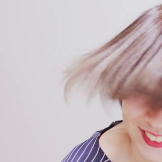 抜け感 グラデーションカラー 秋 束感 ヘアスタイルや髪型の写真・画像