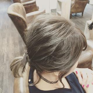 ミディアム ショート フェミニン ゆるふわ ヘアスタイルや髪型の写真・画像