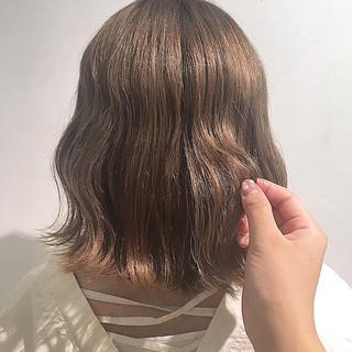 ブラウンベージュ アッシュベージュ ナチュラル ベージュ ヘアスタイルや髪型の写真・画像 ヘアスタイルや髪型の写真・画像