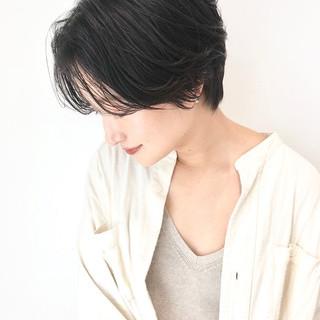 大人かわいい ナチュラル ショート デート ヘアスタイルや髪型の写真・画像