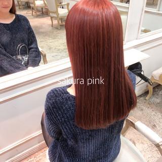 レディース ヘアカラー ロング イルミナカラー ヘアスタイルや髪型の写真・画像
