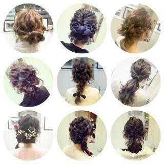 ロング 結婚式 ゆるふわ 二次会 ヘアスタイルや髪型の写真・画像
