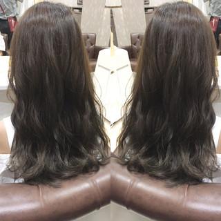 ナチュラル ロング 黒髪 パーマ ヘアスタイルや髪型の写真・画像