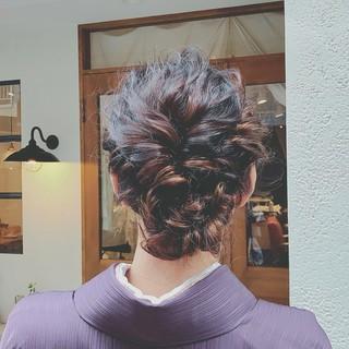 デート ミディアム パーティ 結婚式 ヘアスタイルや髪型の写真・画像