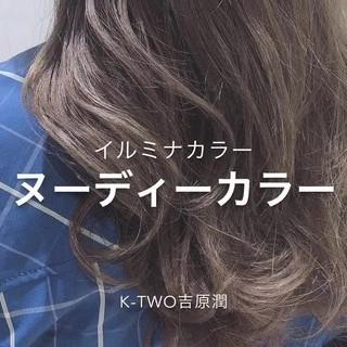 表参道 ナチュラル 圧倒的透明感 ロング ヘアスタイルや髪型の写真・画像