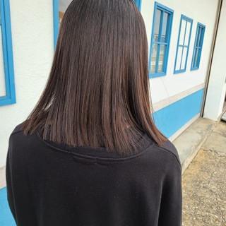 艶髪 透明感 ツヤ髪 モード ヘアスタイルや髪型の写真・画像