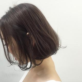 色気 ボブ ナチュラル くせ毛風 ヘアスタイルや髪型の写真・画像