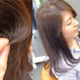 コンサバ ゆるふわ ロング 外国人風 ヘアスタイルや髪型の写真・画像 ヘアスタイルや髪型の写真・画像